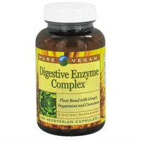 Pure Vegan - Digestive Enzyme Complex - 90 Vegetarian Capsules