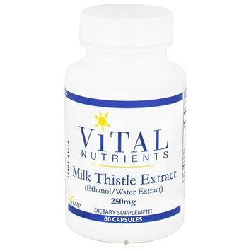 Vital Nutrients, Milk Thistle 80% 250 mg 60 Capsules