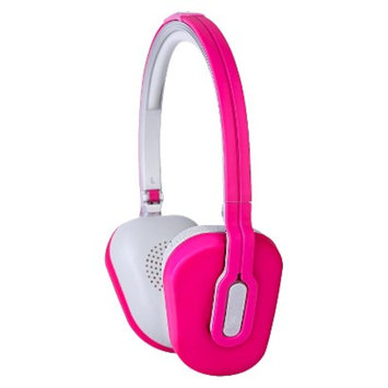 Altec Lansing Foldable Over-the-Head Headphones with Android Adapter - Pink