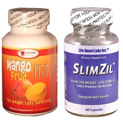 Combo mango Fruit Trim and Slimzill AFRICAN MANGO for Weight Loss, Energy, and dieting