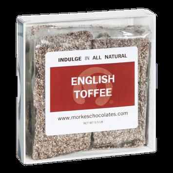 Morkes Chocolates English Toffee