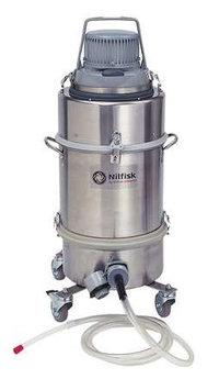 NILFISK M90049 Mercury Recovery Vac,3.25 gal,1.5 HP