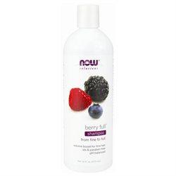 NOW Foods - Natural Full Shampoo Volumizing Berry - 16 oz.