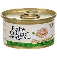 Petite Cuisine Steamed Tuna and Sole Entree Gourmet Canned Cat Food