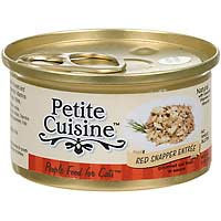 Petite Cuisine Red Snapper Entree Gourmet Canned Cat Food