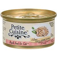 Petite Cuisine Steamed Tuna and Shrimp Entree Gourmet Canned Cat Food