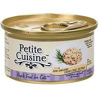 Petite Cuisine New England Crab Cake Entree Gourmet Canned Cat Food