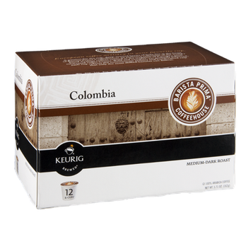 Barista Prima Coffeehouse Keurig Columbia Medium-Dark Roast K-Cups - 12 CT