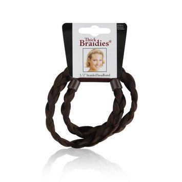 SEPHORA COLLECTION Thick Braidie® Headband Medium Brown