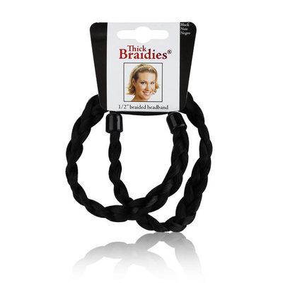 SEPHORA COLLECTION Thick Braidie® Headband Black