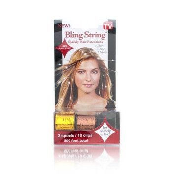 Mia Bling String - Gold and Blonze