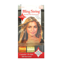 Mia Bling String - Hologram Orange and Gold
