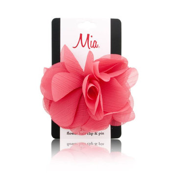 Mia 2 in 1 Flower Hair Clip & Pin - Medium