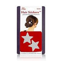 Mia Hair Stickers - Small Model No. 04701 - 2 Silver Stars