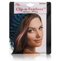 Mia Clip-In-Feathers Model No. 05307 - Blue