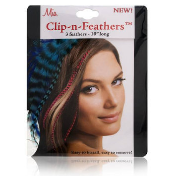 Mia Clip-In-Feathers Model No. 05307 - Blue