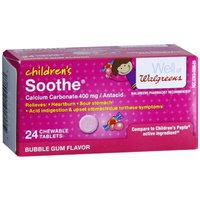 Walgreens Soothe Children'S Bubblegum Chewable Tablets