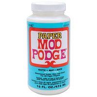 Plaid 315678 Mod Podge Paper Matte Finish-16 Ounces