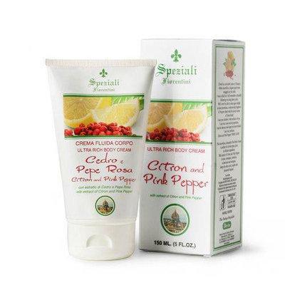Citron and Pink Pepper by Speziali Fiorentini Ultra Rich Body Cream