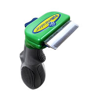 Furminator, Inc. FURminator deShedding Tool for Dogs Short Hair Small