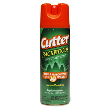 Cutter Backwoods Insect Repellent Aerosol 25% DEET, 6 oz