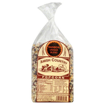 Amish Country Rainbow Blend Popcorn 2 lb.