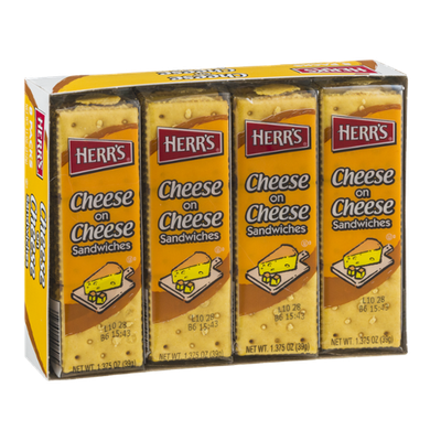 Herr's® Cheese on Cheese Sandwiches