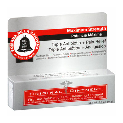 Dr. Bell's Pomade First Aid Antibiotic/Pain Relieving Ointment