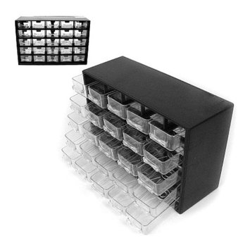 Trademark Tools 25 Hardware Storage Compartments