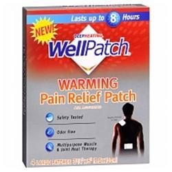 Wellpatch Pain Relieving Pads Wellpatch Pain Relief Heat Warming Pads, Large Size - 4 Ea