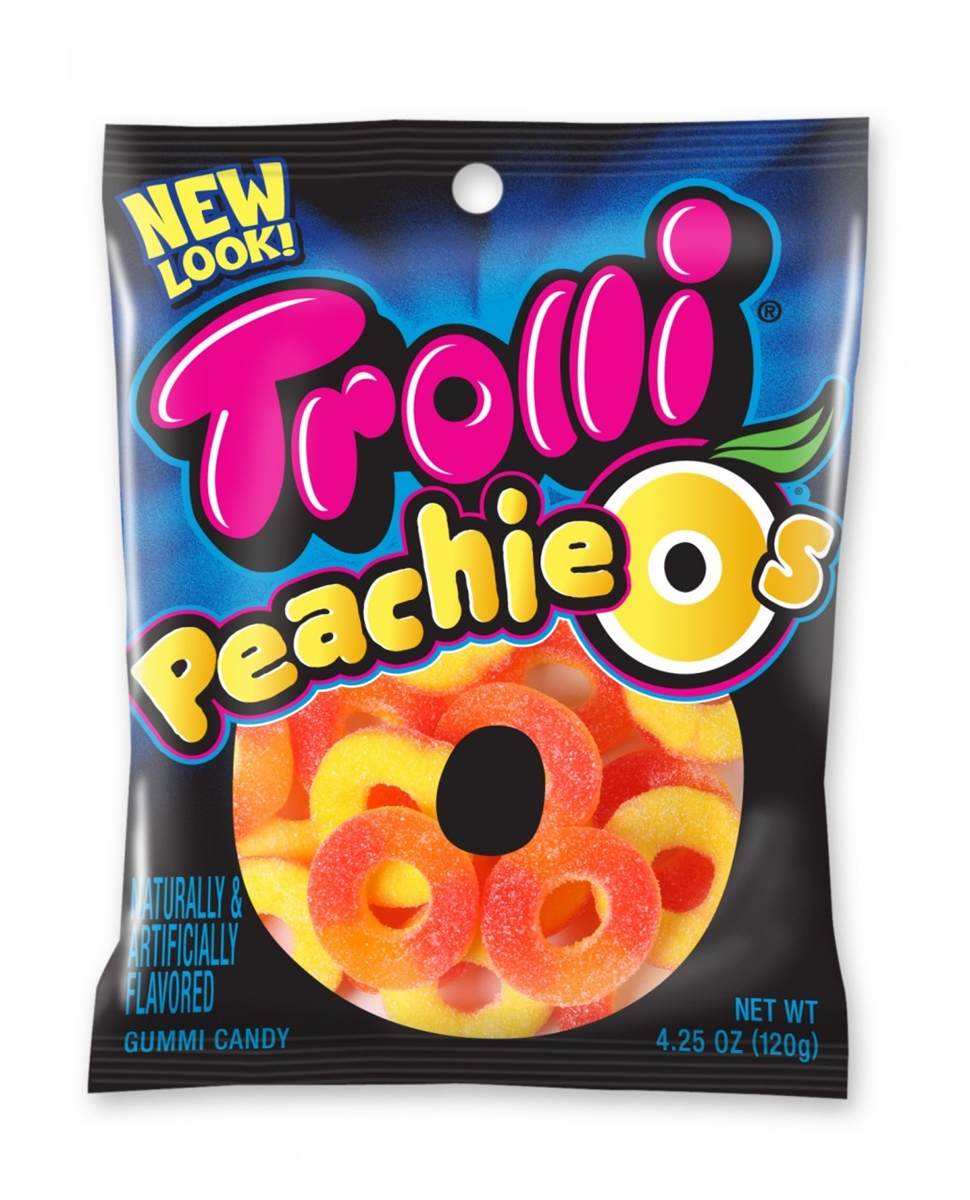 Trolli Gummy Candy Peachie O's