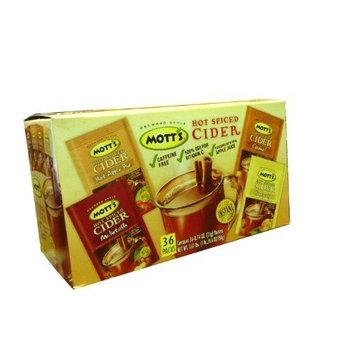 Mott's Hot Spiced Cider Variety - 36/.74 oz.