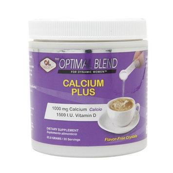 Olympian Labs Optimal Blend Calcium Plus, 85.8 g