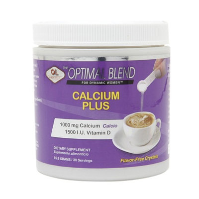 Olympian Labs Optimal Blend Calcium Plus, 85.8 g