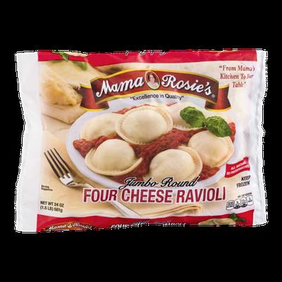 Mama Rosie's Jumbo Round Four Cheese Ravioli