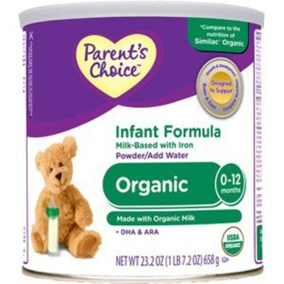 Parents Choice Parent's Choice Organic Infant Formula - 23.2 oz