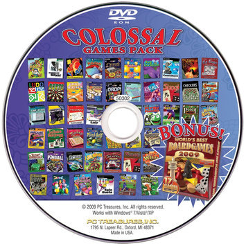 Pc Treasures PC Treasures Colossal Games Pack - CD - PC