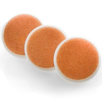 ZoLi Buzz B. Baby Nail Trimmer Replacement Pads Orange (12+ Months) - 3 Per Set