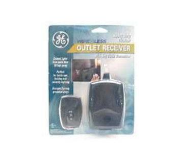 Jasco 57883 Outdoor Outlet Receiver Module- RF Controls Lights-Appliances
