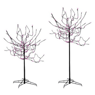 Sterling 4-in-1 LED Bud Tree Pink - 5.5'