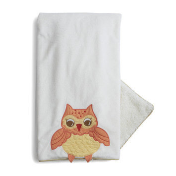 The Little Acorn Baby Owls Blanket