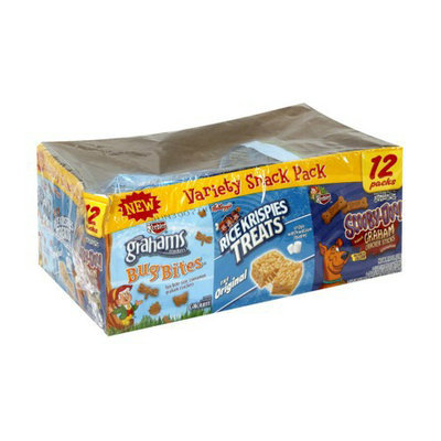 Kellogg's & Keebler Variety Snacks 12 pk