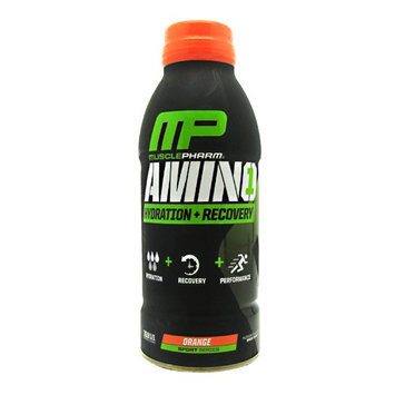 MusclePharm Amino 1 RTD Orange - 12 - 16.9 FL OZ Bottles