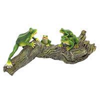 Design Toscano QL57747 Froggy Business Garden Statue: QL57747 Garden