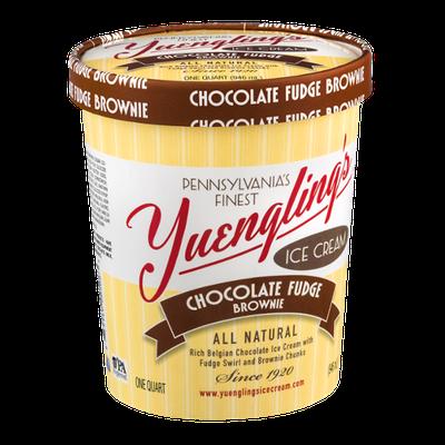 Yuengling's Ice Cream Chocolate Fudge Brownie
