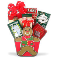 Alder Creek Gift Baskets Gingerbread Man Gift Basket