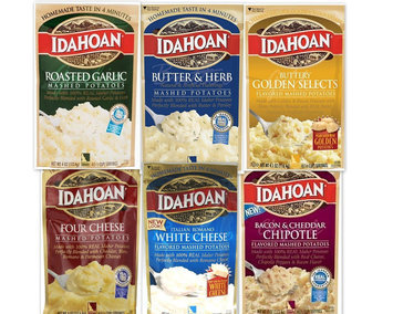 Idahoan Naturally Mashed Potatoes