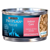 PRO PLAN® FOCUS ADULT Indoor Care Salmon & Rice Entree In Sauce