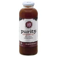 Purity Organic Superjuice Beet Apple Ginger Lemon 14 fl oz