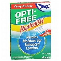 Opti-Free: Replenish Multi-Purpose Carry-On-Size Disinfecting Solution, 2 Oz